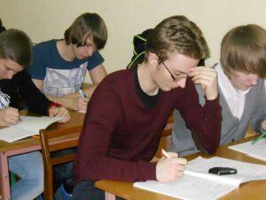 Подготовка к экзаменам школьников в Академии