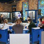 Будущие целевики на экскурсии в Военмехе